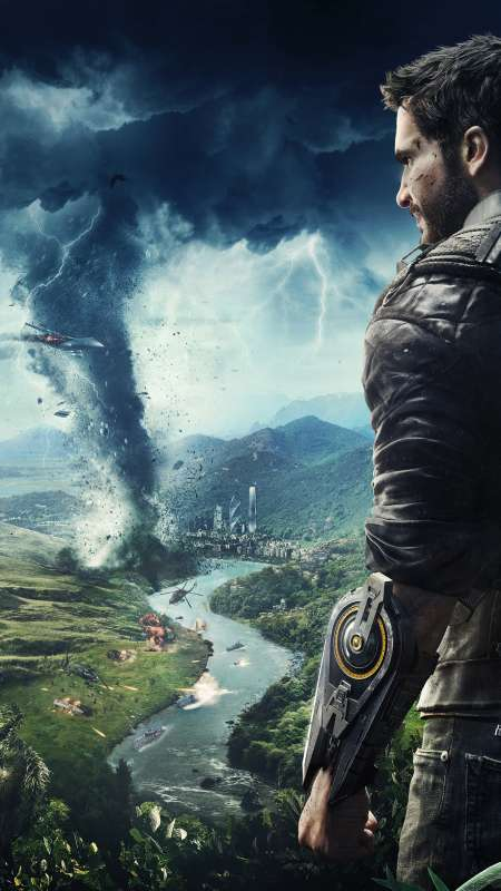 Just Cause 4 Mobile Vertical fond d'écran