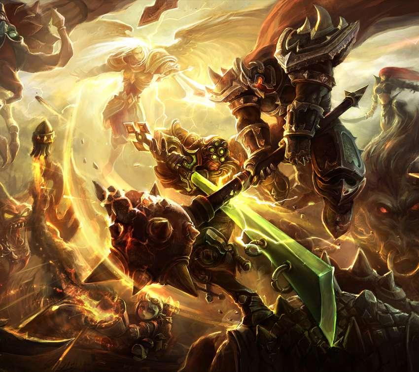 League of Legends desktop fonds d'écran