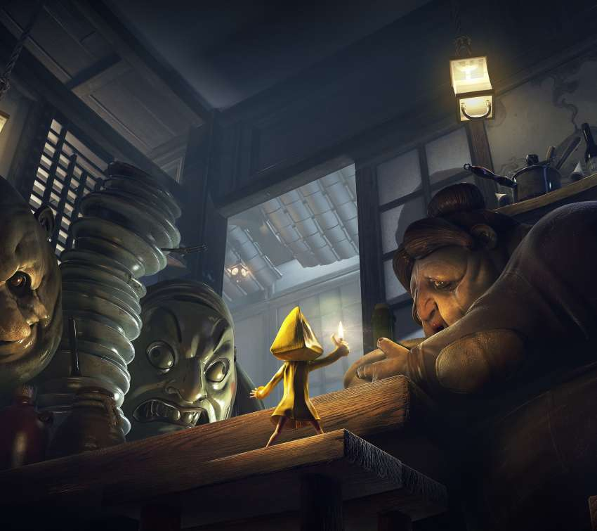 Little Nightmares Complete Edition Mobile Horizontal fond d'écran