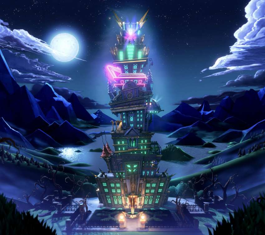 Luigi's Mansion 3 Mobile Horizontal fond d'écran
