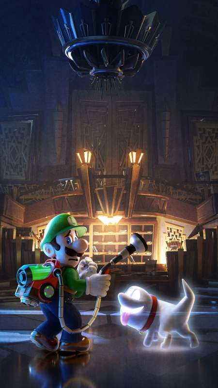 Luigi's Mansion 3 Mobile Vertical fond d'écran
