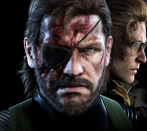 Metal Gear Solid: Ground Zeroes Mobile Horizontal fond d'écran