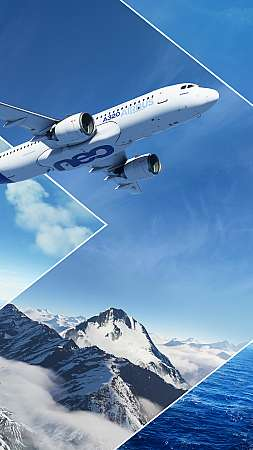 Microsoft Flight Simulator Mobile Vertical fond d'écran
