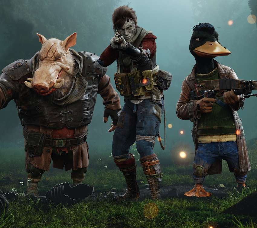 Mutant Year Zero: Road To Eden fond d'écran