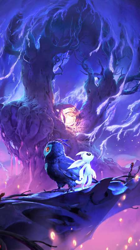 Ori and the Will of Wisps Mobile Vertical fond d'écran