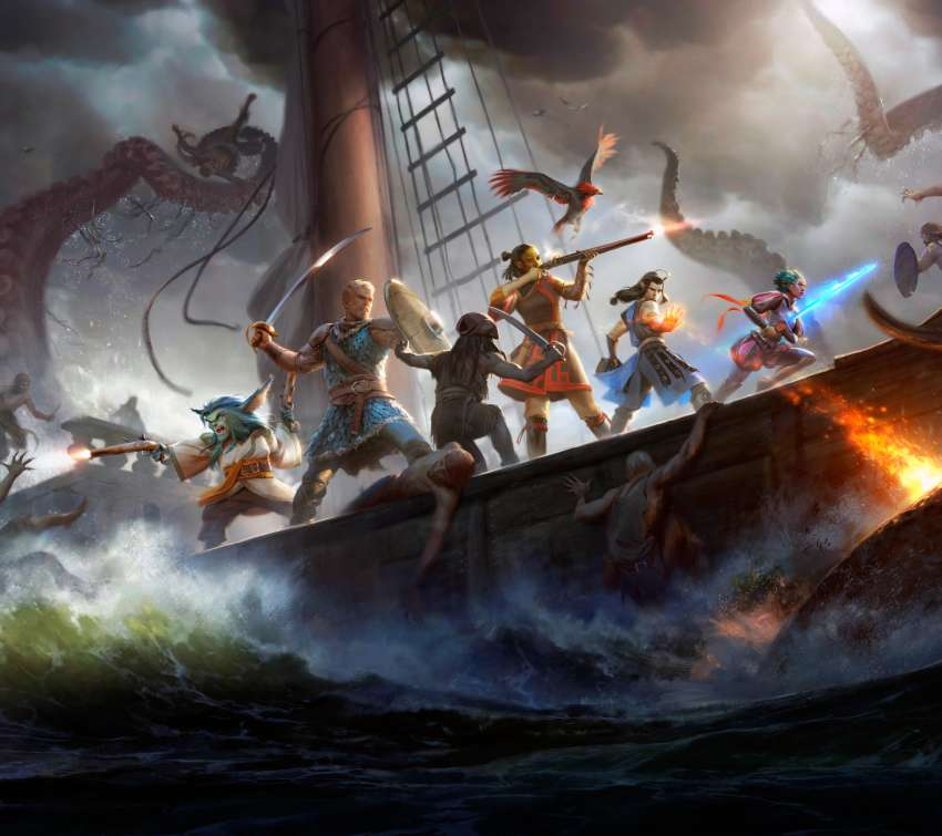 Pillars of Eternity 2: Deadfire Mobile Horizontal fond d'écran