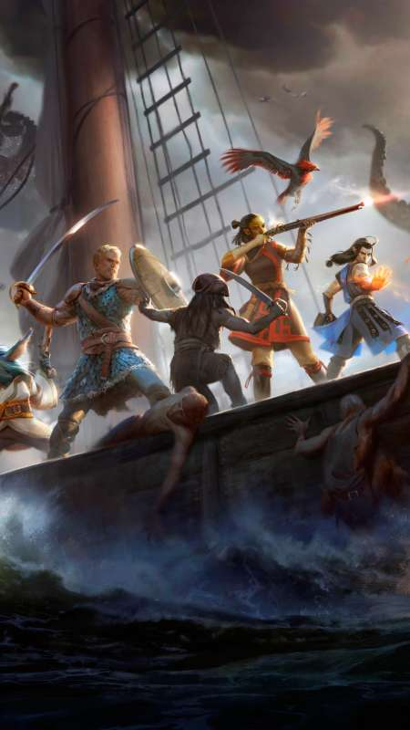 Pillars of Eternity 2: Deadfire Mobile Vertical fond d'écran