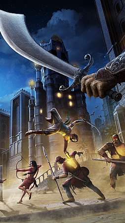Prince of Persia: The Sands of Time Remake Mobile Vertical fond d'écran