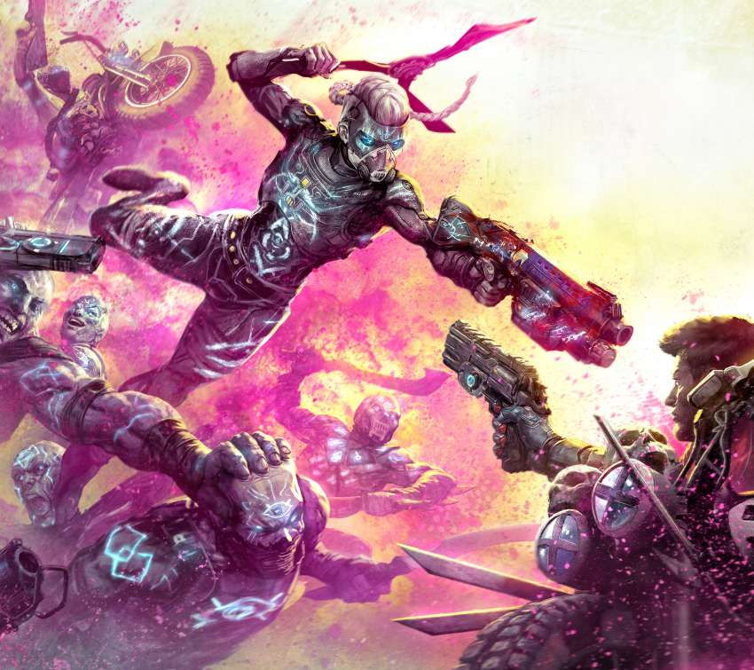 Rage 2: Rise of the Ghosts Mobile Horizontal fond d'écran