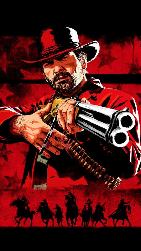 Red Dead Redemption 2 Mobile Vertical fond d'écran