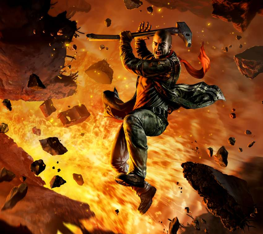 Red Faction: Guerrilla Re-Mars-tered Mobile Horizontal fond d'écran