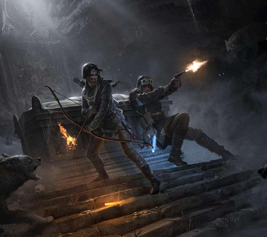 The Rise Of Tomb Raider Wallpaper: Cyberbabe Fonds D'écran De Jeu