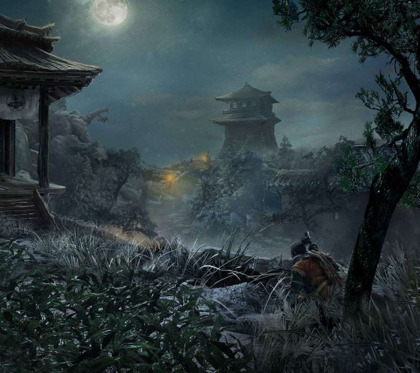 Sekiro: Shadows Die Twice Mobile Horizontal fond d'écran