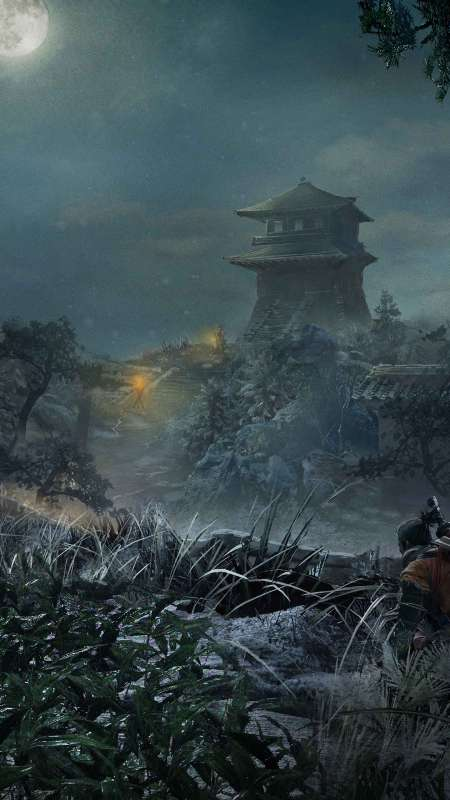 Sekiro: Shadows Die Twice Mobile Vertical fond d'écran