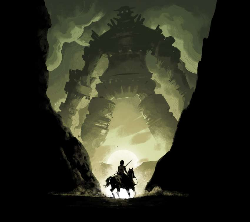 Shadow of the Colossus fond d'écran