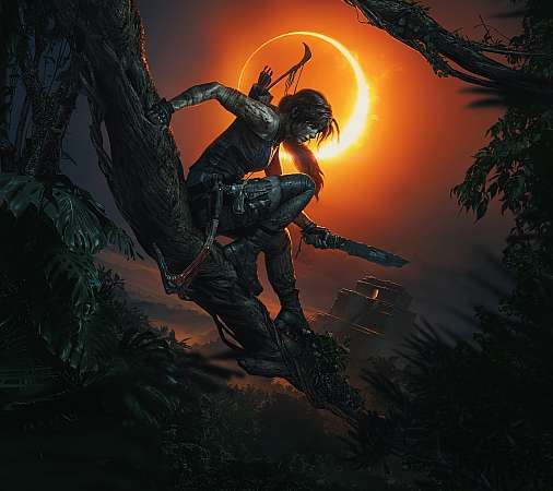 Shadow of the Tomb Raider Mobile Horizontal fond d'écran