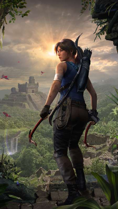 Shadow of the Tomb Raider Mobile Vertical fond d'écran