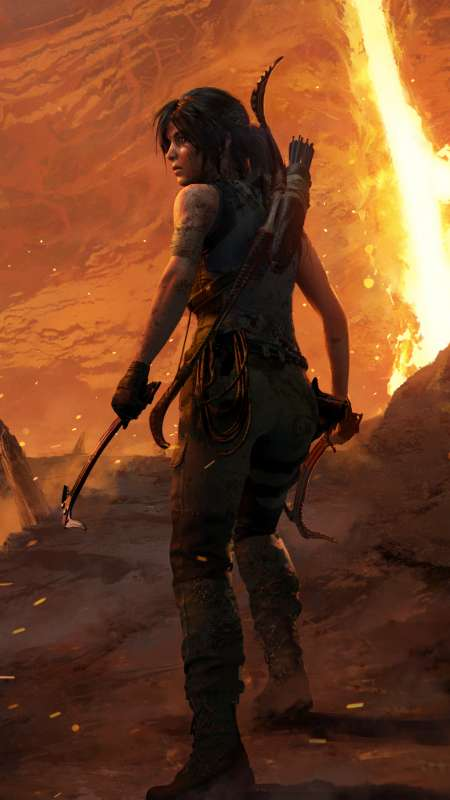 Shadow of the Tomb Raider: The Forge Mobile Vertical fond d'écran