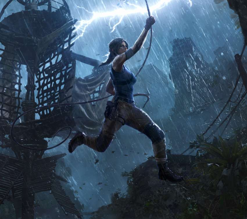 Shadow of the Tomb Raider: The Pillar Mobile Horizontal fond d'écran
