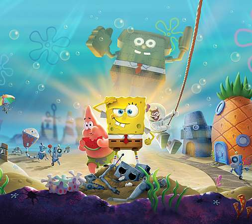 SpongeBob SquarePants: Battle for Bikini Bottom - Rehydrated Mobile Horizontal fond d'écran