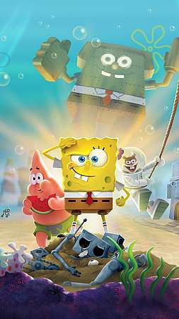 SpongeBob SquarePants: Battle for Bikini Bottom - Rehydrated Mobile Vertical fond d'écran