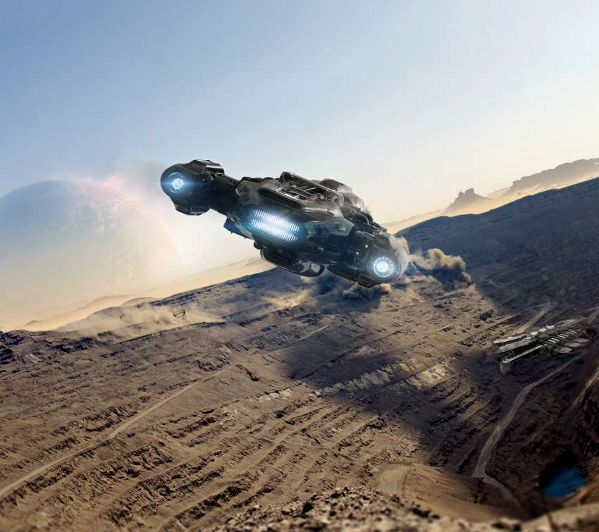 Star Citizen Mobile Horizontal fond d'écran