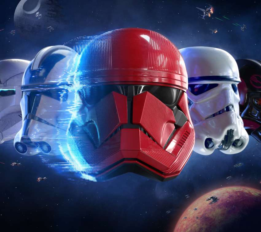Star Wars - Battlefront 2 Mobile Horizontal fond d'écran