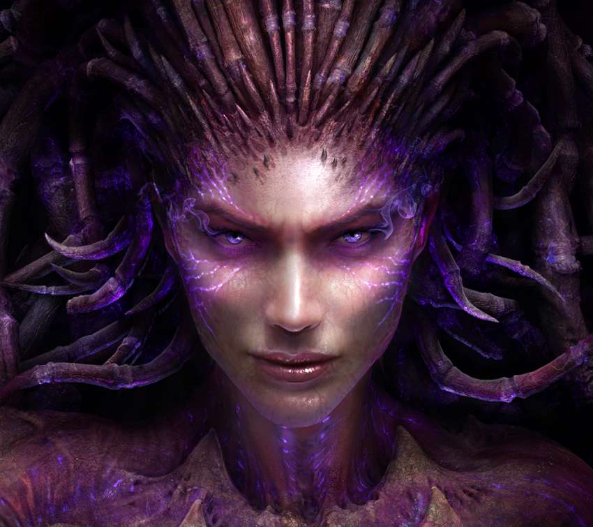 StarCraft 2: Heart of the Swarm Mobile Horizontal fond d'écran