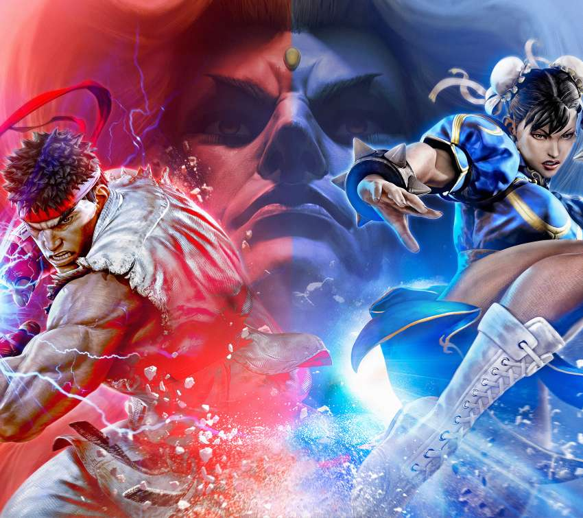 Street Fighter 5 Mobile Horizontal fond d'écran
