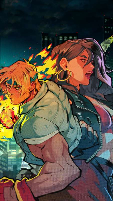 Streets of Rage 4 Mobile Vertical fond d'écran