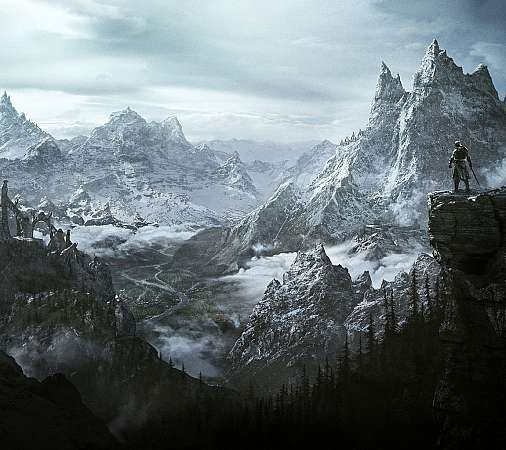 The Elder Scrolls 5: Skyrim Mobile Horizontal fond d'écran