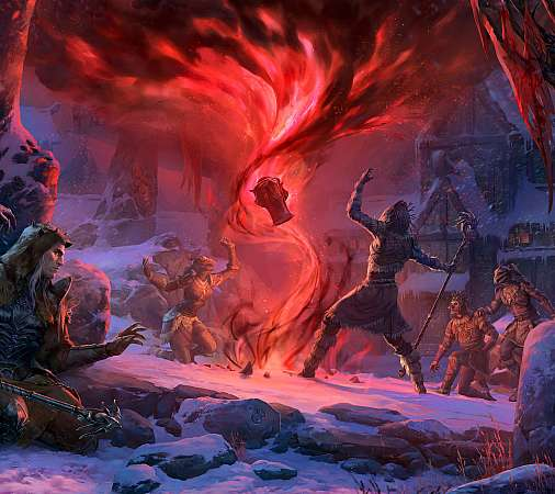The Elder Scrolls Online: Harrowstorm Mobile Horizontal fond d'écran