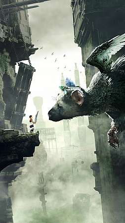 The Last Guardian Mobile Vertical fond d'écran