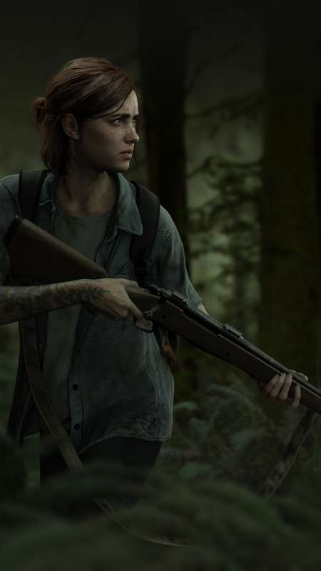 The Last of Us: Part 2 Mobile Vertical fond d'écran
