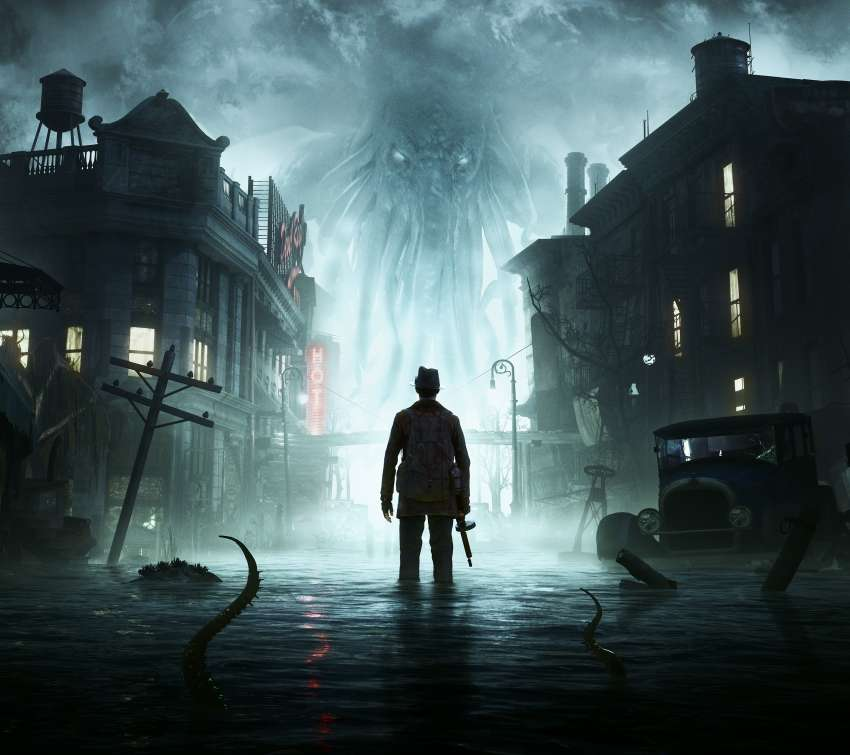 The Sinking City Mobile Horizontal fond d'écran