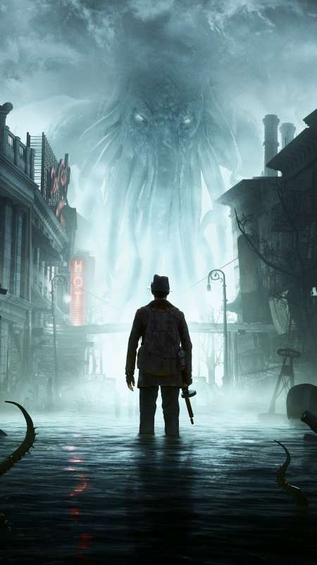 The Sinking City Mobile Vertical fond d'écran