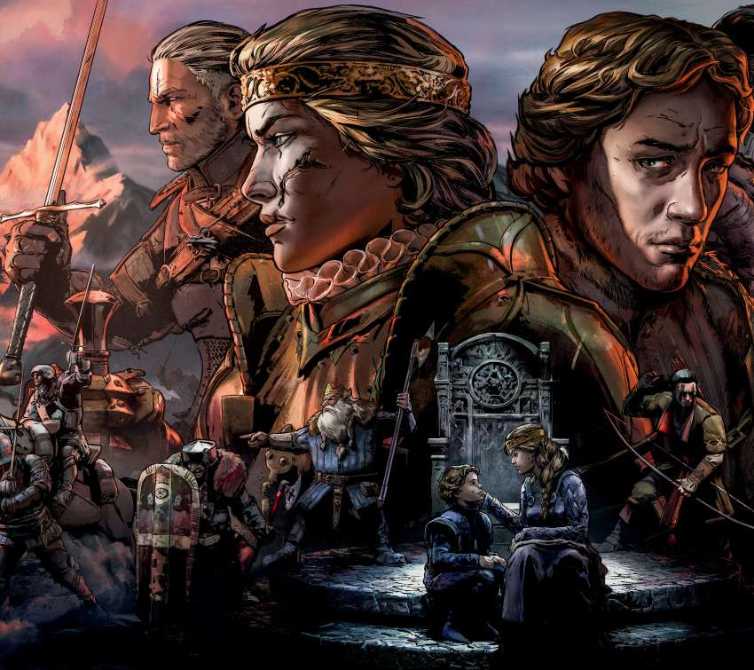 Thronebreaker: The Witcher Tales Mobile Horizontal fond d'écran