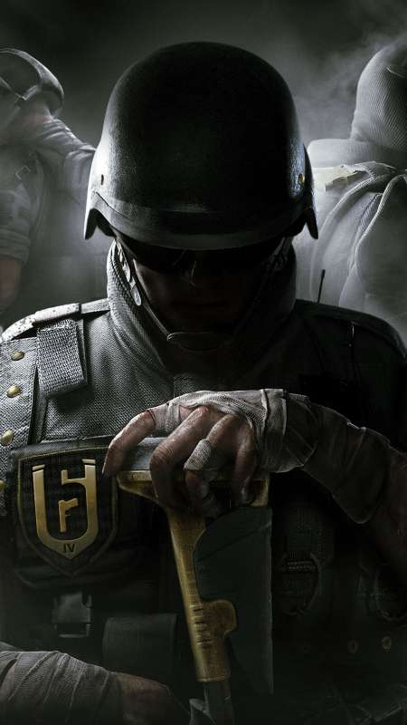 Tom Clancy's Rainbow Six: Siege Mobile Vertical fond d'écran