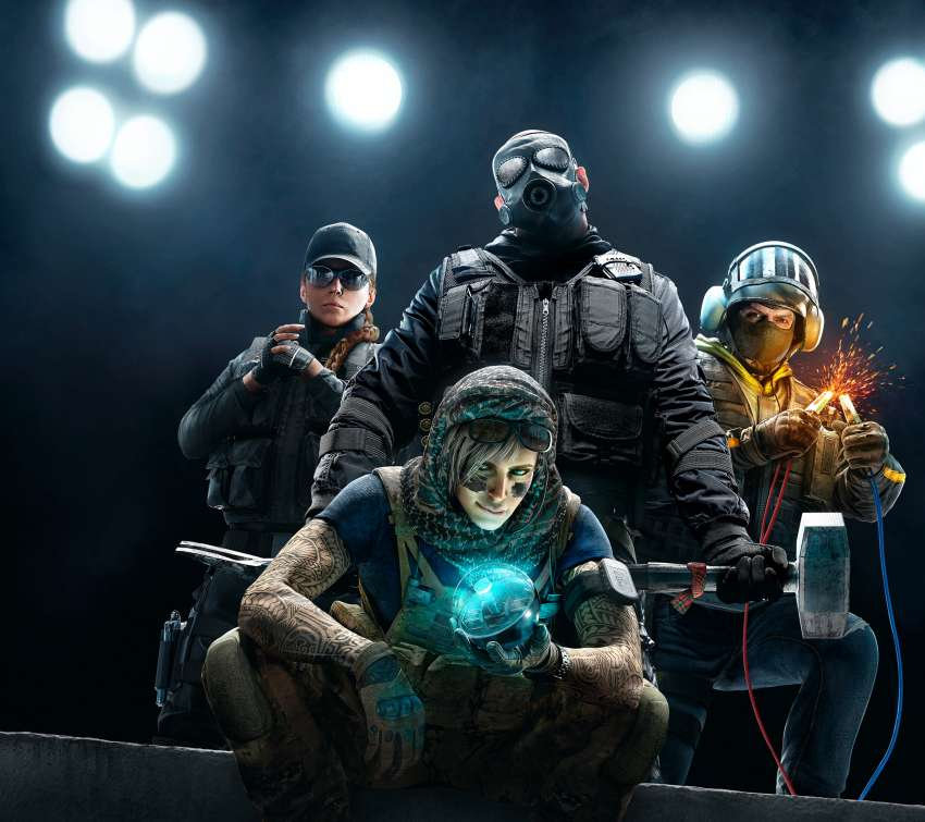 Tom Clancy's Rainbow Six: Siege fond d'écran