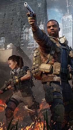 Tom Clancy's The Division 2 - Warlords of New York Mobile Vertical fond d'écran