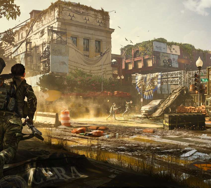 Tom Clancy's The Division 2 Mobile Horizontal fond d'écran