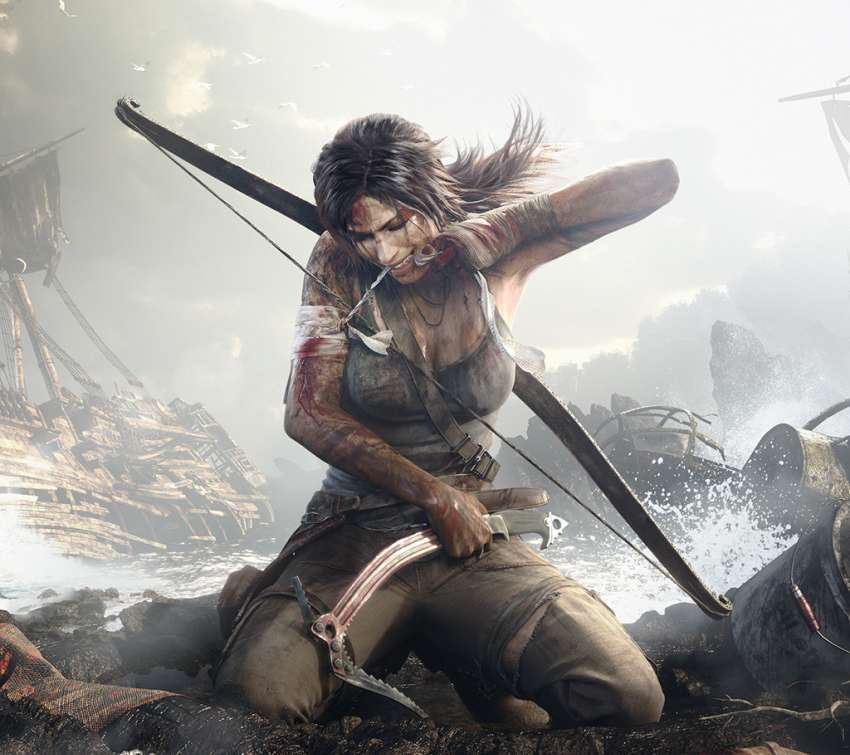 Tomb Raider Mobile Horizontal fond d'écran