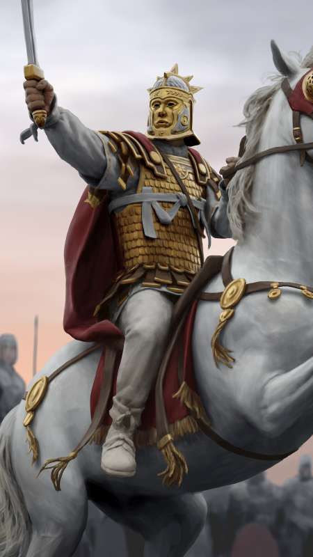 Total War: Rome 2 - Empire Divided Mobile Vertical fond d'écran