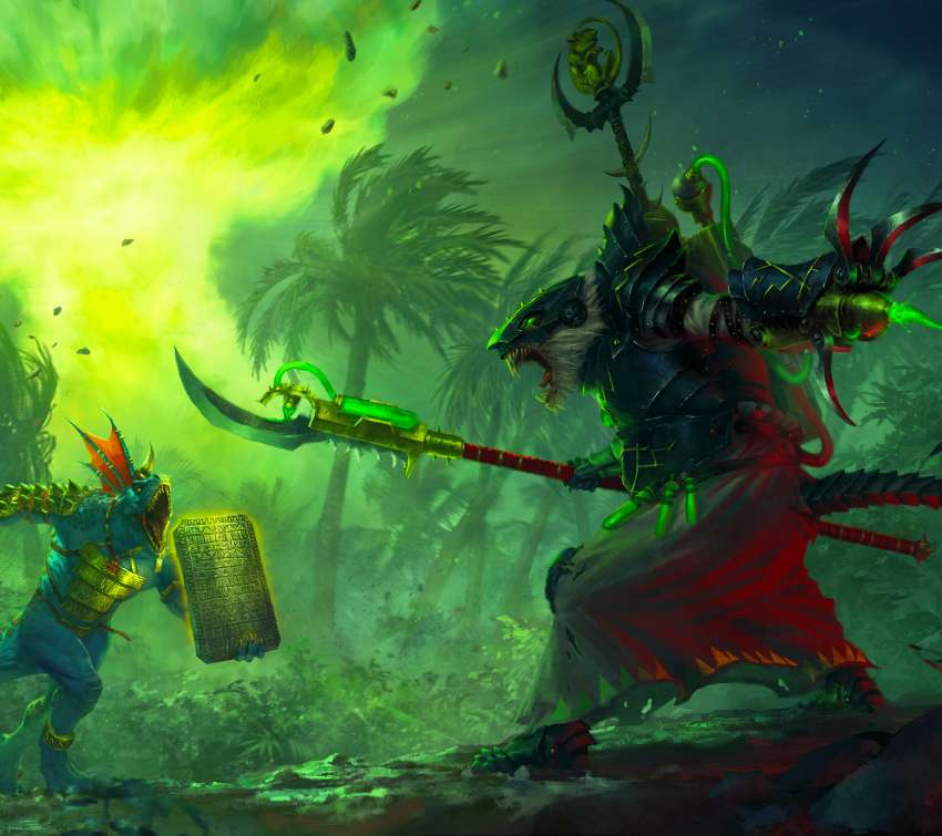 Total War: Warhammer 2 - The Prophet & The Warlock Mobile Horizontal fond d'écran