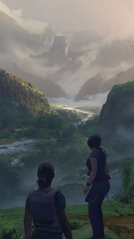 Uncharted: The Lost Legacy Mobile Vertical fond d'écran