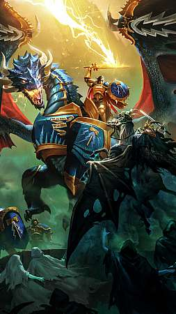 Warhammer Age of Sigmar: Storm Ground Mobile Vertical fond d'écran