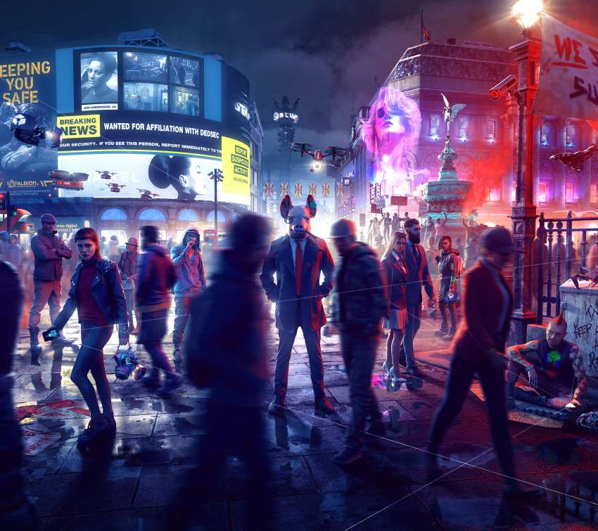 Watch Dogs: Legion Mobile Horizontal fond d'écran