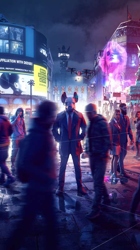 Watch Dogs: Legion Mobile Vertical fond d'écran