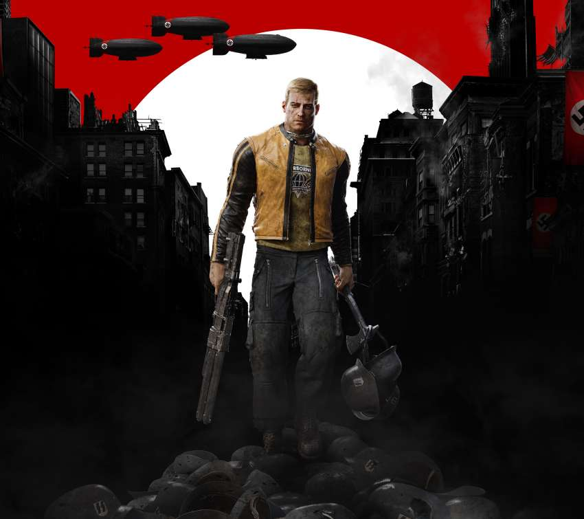 Wolfenstein 2: The New Colossus Mobile Horizontal fond d'écran