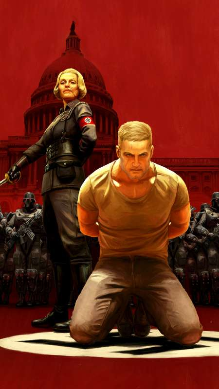 Wolfenstein 2: The New Colossus Mobile Vertical fond d'écran